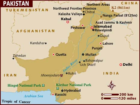 Pakistan Map-Data Recovery Salon