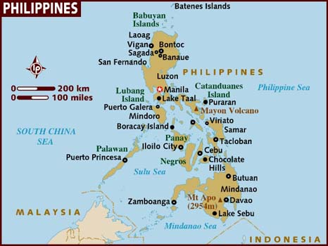 Philippines Map-Data Recovery Salon