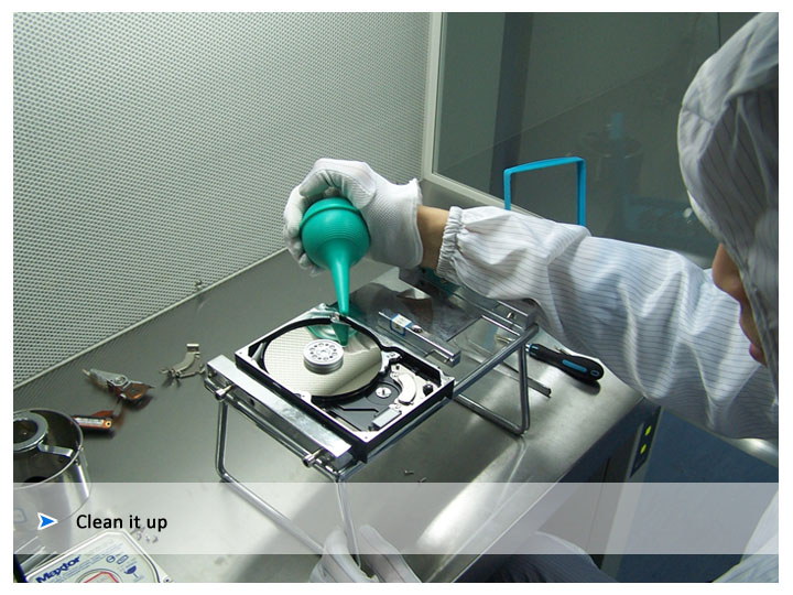Crashed Hard Disk Drives Recovery Services at Disk Doctors