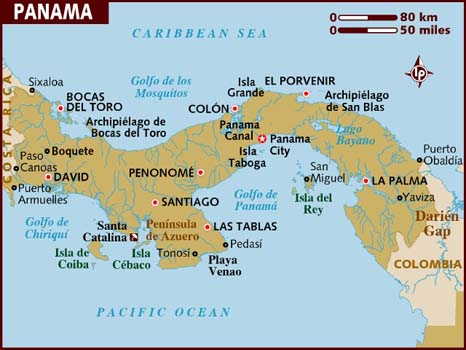 Panama Map-Data Recovery Salon