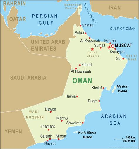 Oman Map-Data Recovery Salon