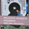 How to Recover WD20SDZW WD20SPZX WD20SMZW Hard Drives