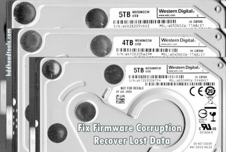 How to Recover Lost Data from WD40NDZW WD50NDZW WD50NMZW with PCB 2060-810035