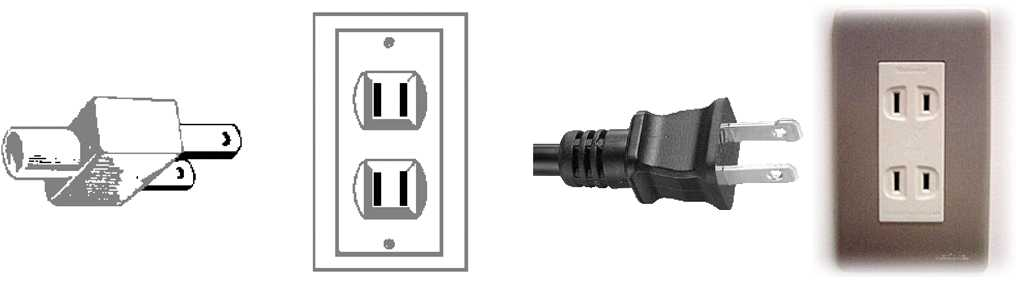 class-ii-ungrounded-plug-with-two-flat-parallel-prongs