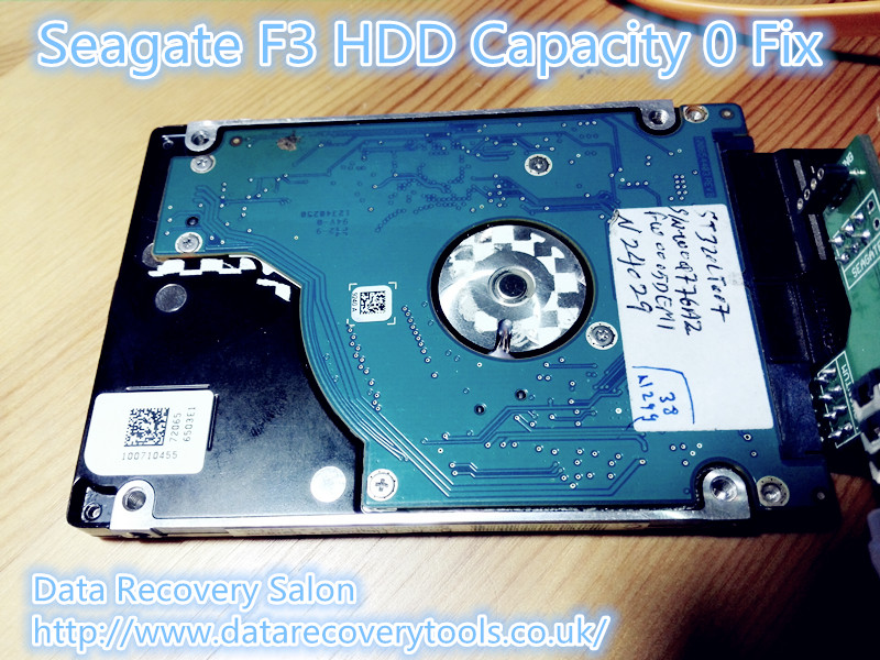 How To Fix Seagate F3 Hard Drive 0 Capacity - Data Recovery